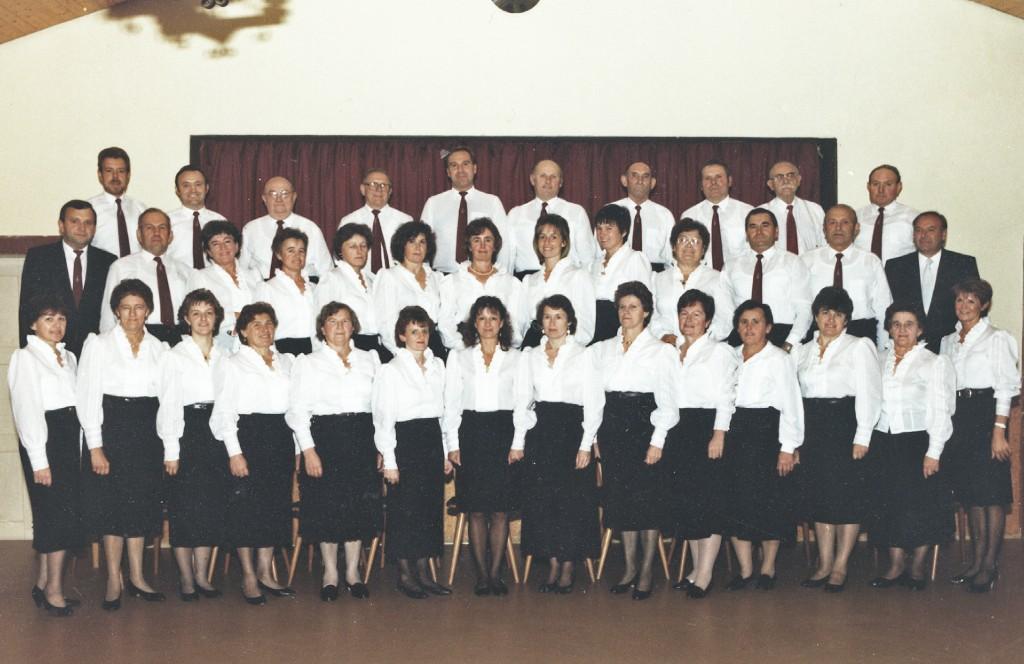Unser Chor um das Jahr 1995