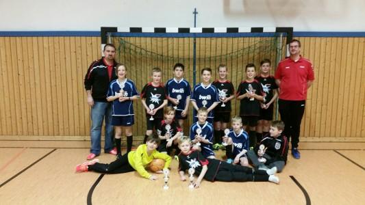 Siegerteam E1-Junioren