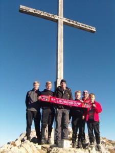 Klettergruppe Säuling Nov. 2015