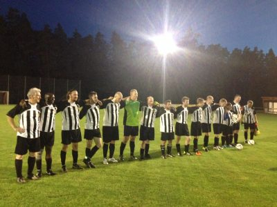 Die Mannschaft nach dem Spiel