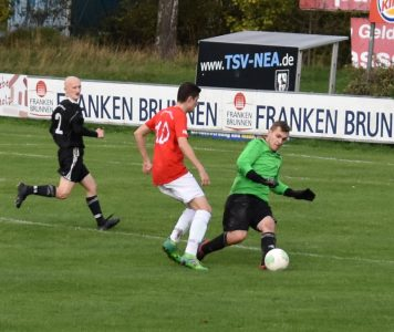 Torhüter der Sportfreunde Laubendorf