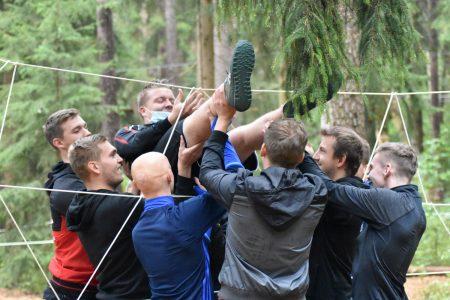 Teambuilding Kletterpark Weiherhof