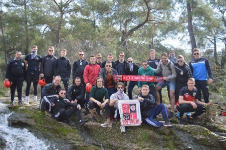 1. und 2. Mannschaft beim Quad Ausflug im Trainingslager in Belek