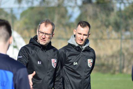 Bernd Jäger und Daniel Apel in Belek (Februar 2020)