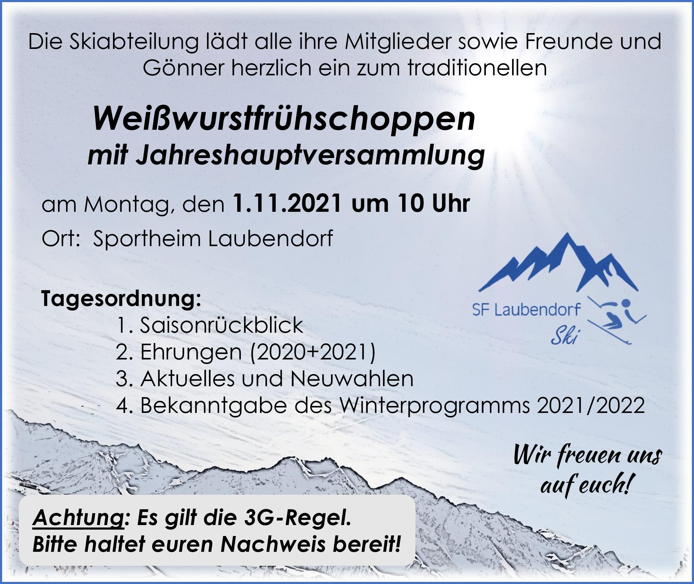 Skiclub-JHV