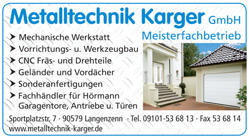 Metalltechnik Karger