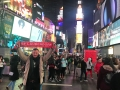 SFL in New York, Times Square, März 2018