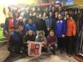 1te & 2te Mannschaft in Oberhof im Januar 2016