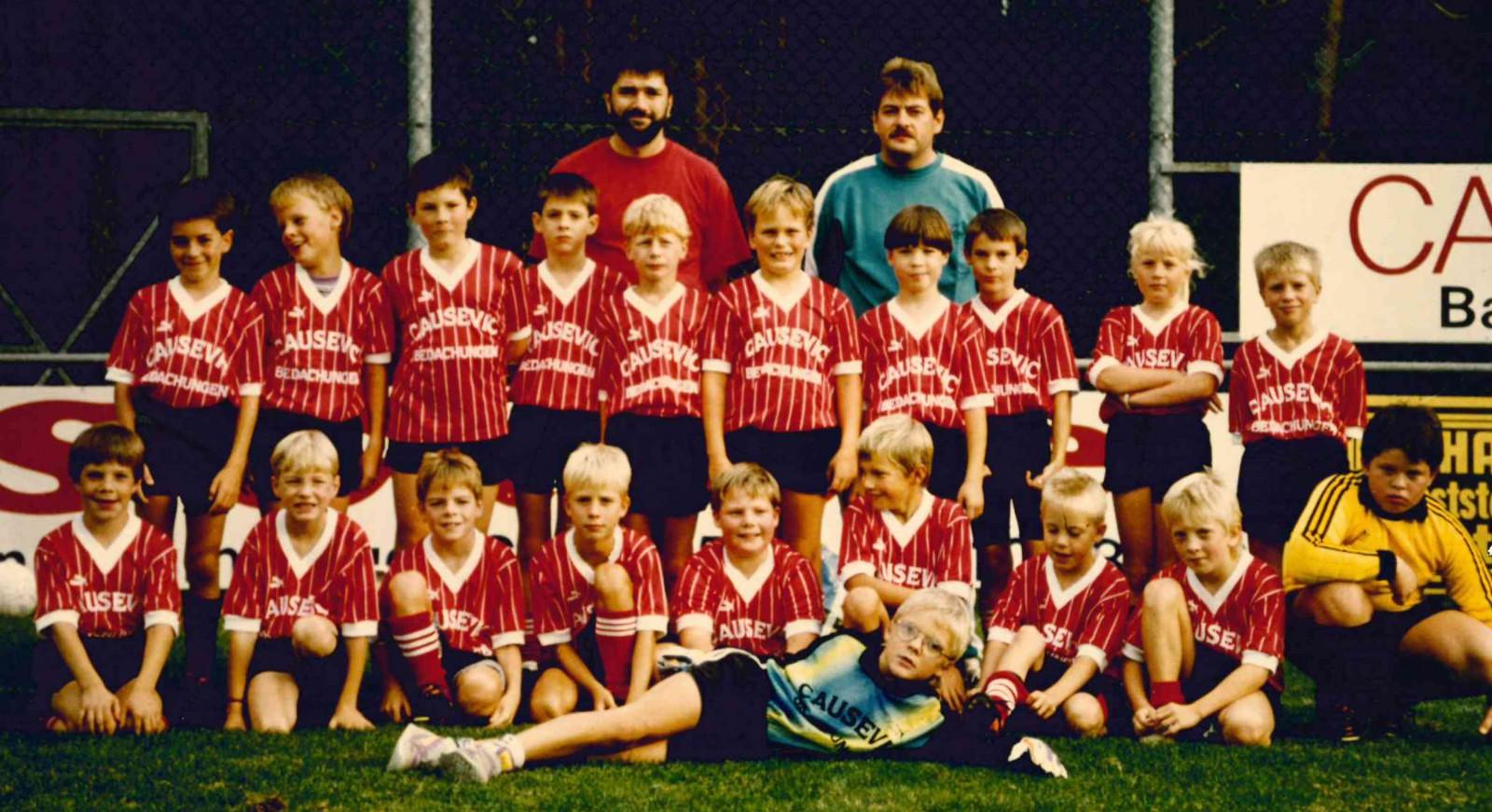 E1- und E2-Jugend Saison 1992/93