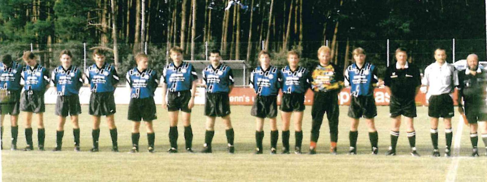 Aufgebot SFL beim Spiel gegen die Spielvereinigung Fürth