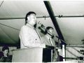 Bürgermeister Fischer bei der Ansprache