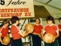Aufführung der Damengymnastik zum 25. Jubiläum